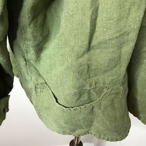 Flax Tops - Flax by Jeanne Engelhart Linen Blouse
